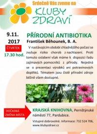 33. Přírodní antibiotika